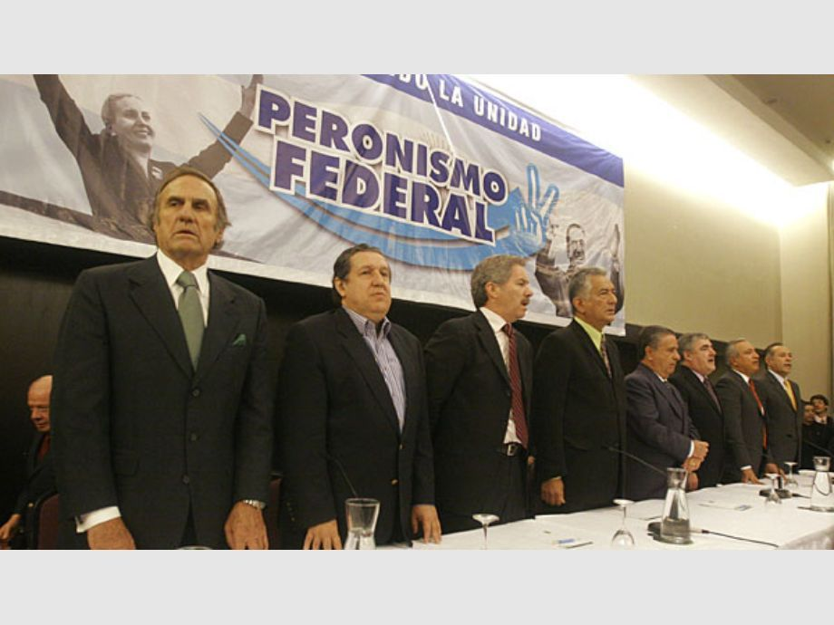 La interna del Peronismo Federal, los domingos de abril -