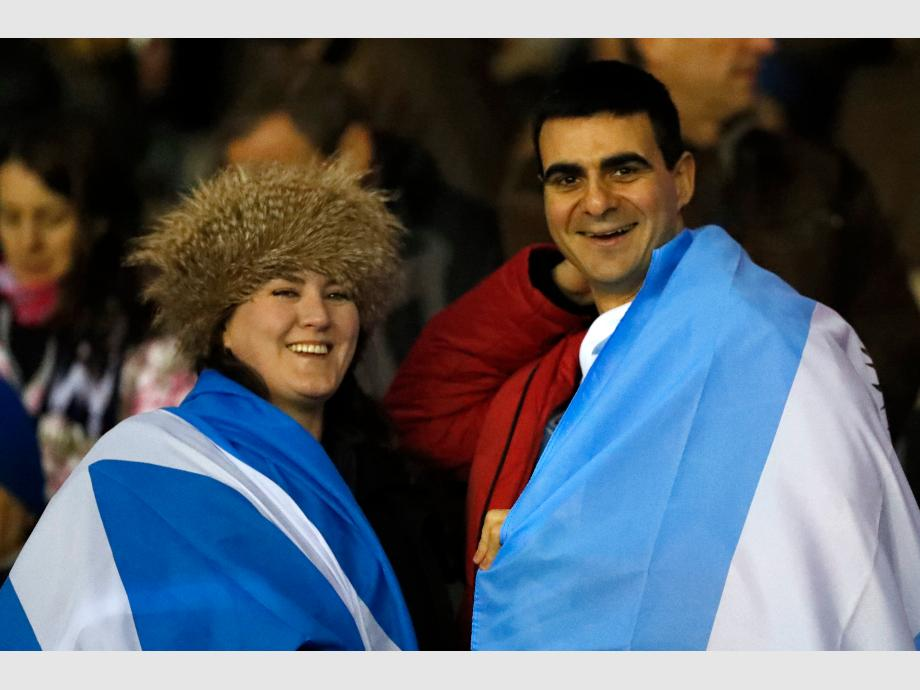 Argentina cayó ante Escocia en un dramático final