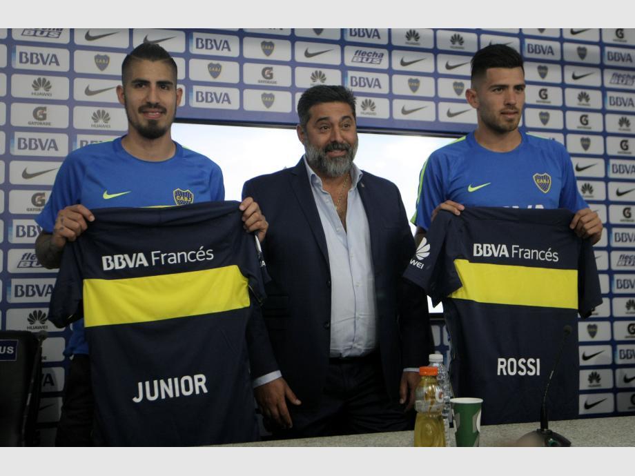 Benítez y Rossi estarán en Mar del Plata — Boca