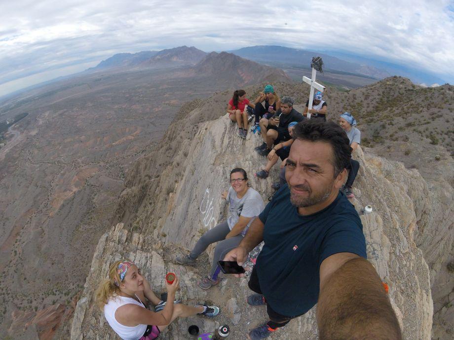 Cumbre en el Tres Marías - trekking Aire Libre Deporte