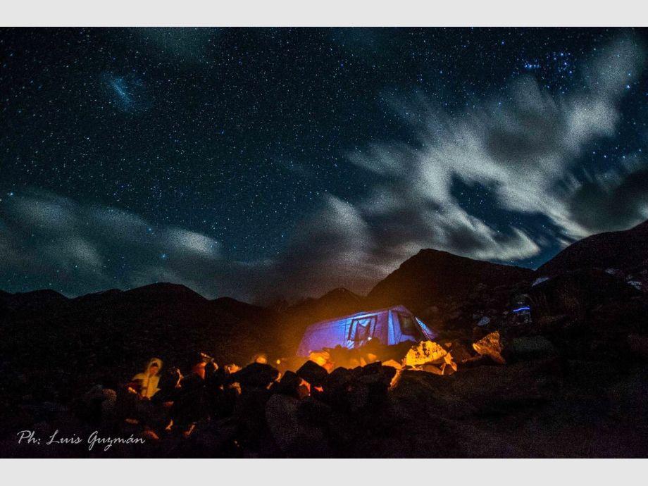 Campamento Arroyo Turquesa - trekking Aire Libre Deporte