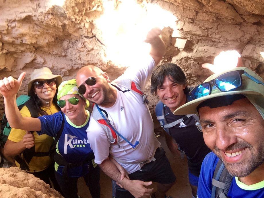 Cueva de las coloradas - trekking Aire Libre Deporte