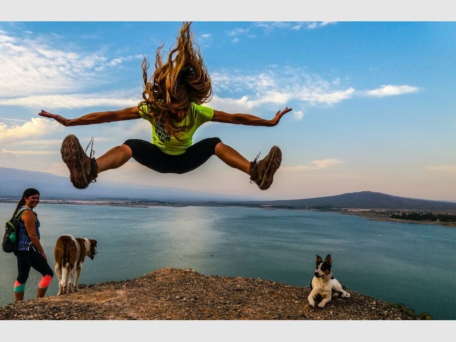 Dique de Ullum - trekking Aire Libre Deporte