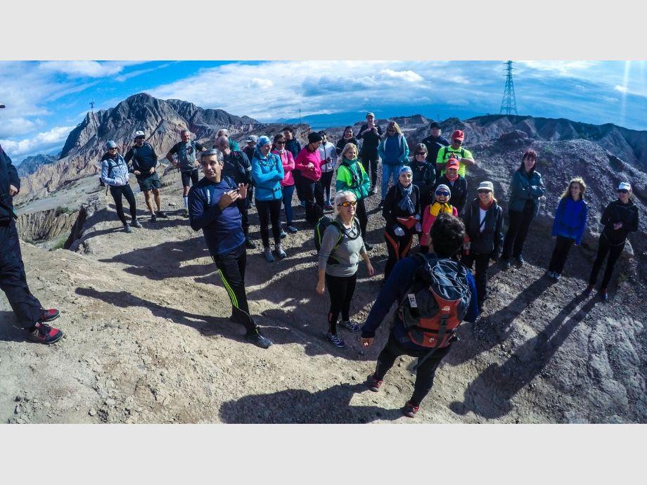 Lomas de las Tapias - trekking Aire Libre Deporte