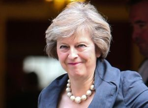 Londres inicia su salida de la Unión Europea - Londres Brexit Theresa May