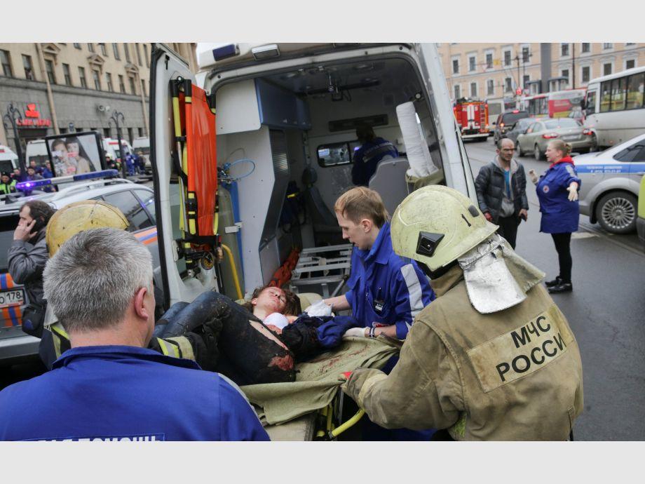 Muertos por explosión en San Petersburgo suben a 14