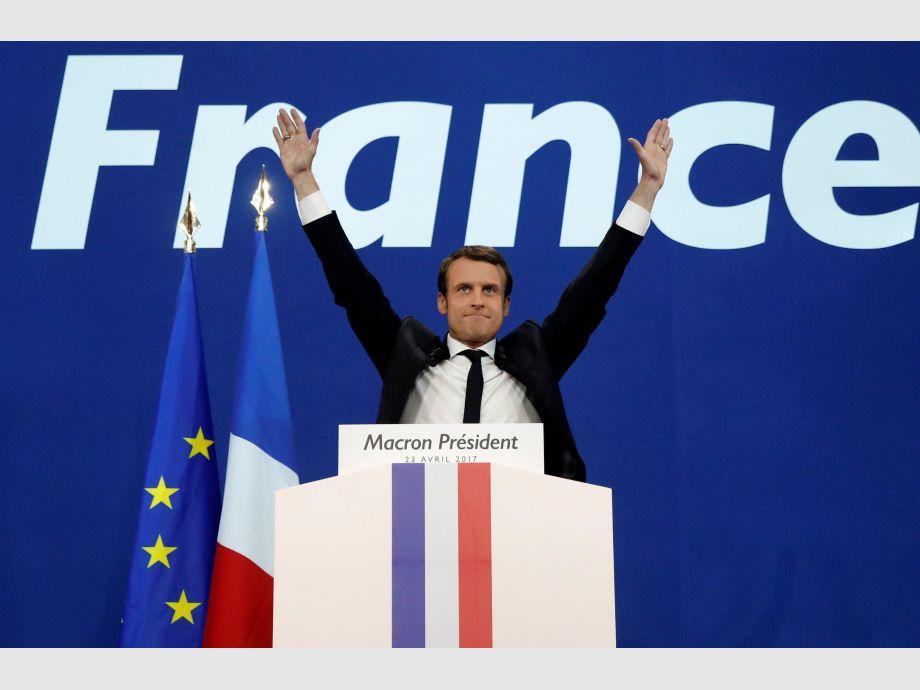 Macron y Le Pen irán a la segunda vuelta — Francia