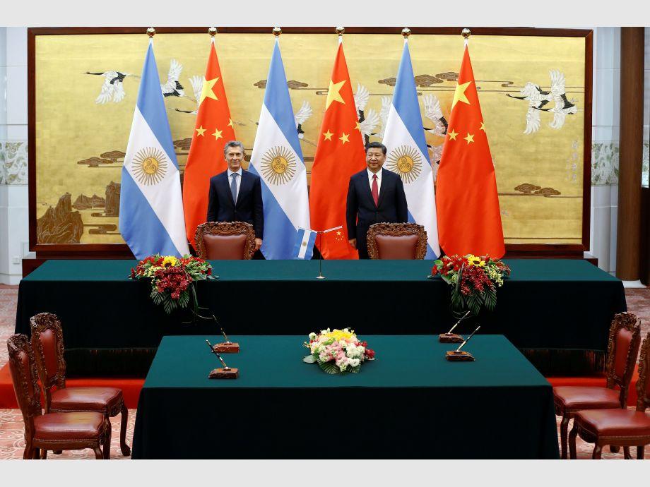 China - Gira asiática de Macri