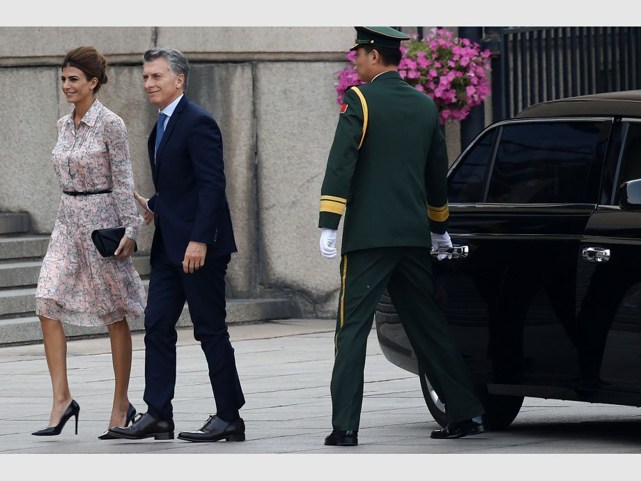 Argentina - Gira asiática de Macri