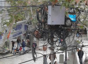 Maraña de cables - Capital Peatonal