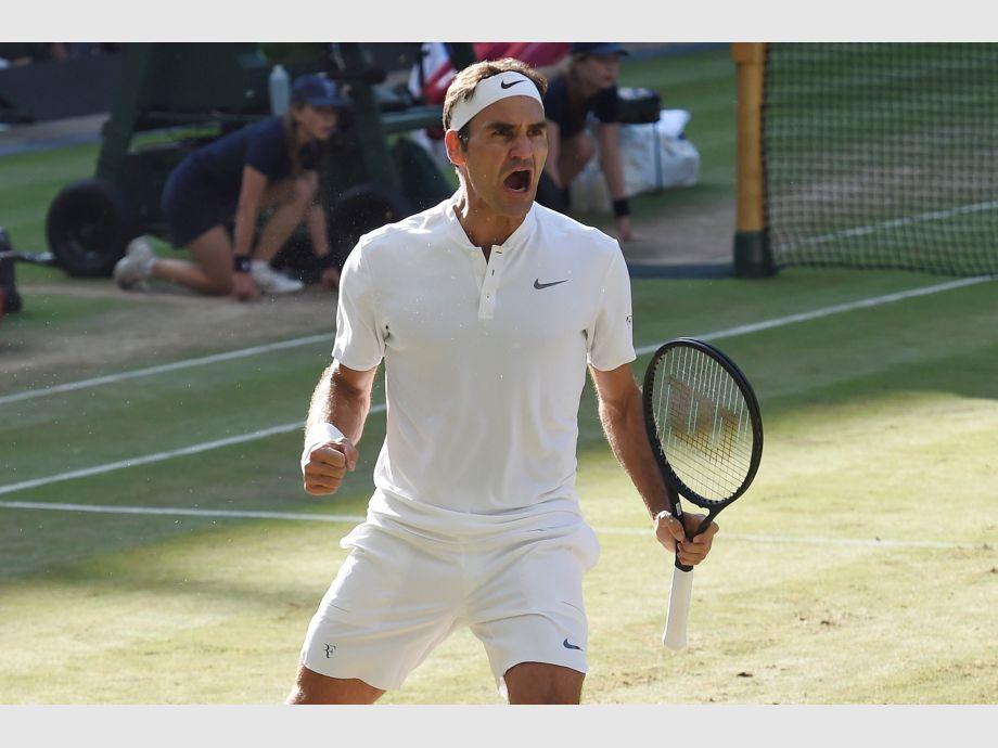Federer se queda, y Murray y Djokovic dicen adiós — Tormenta en Wimbledon