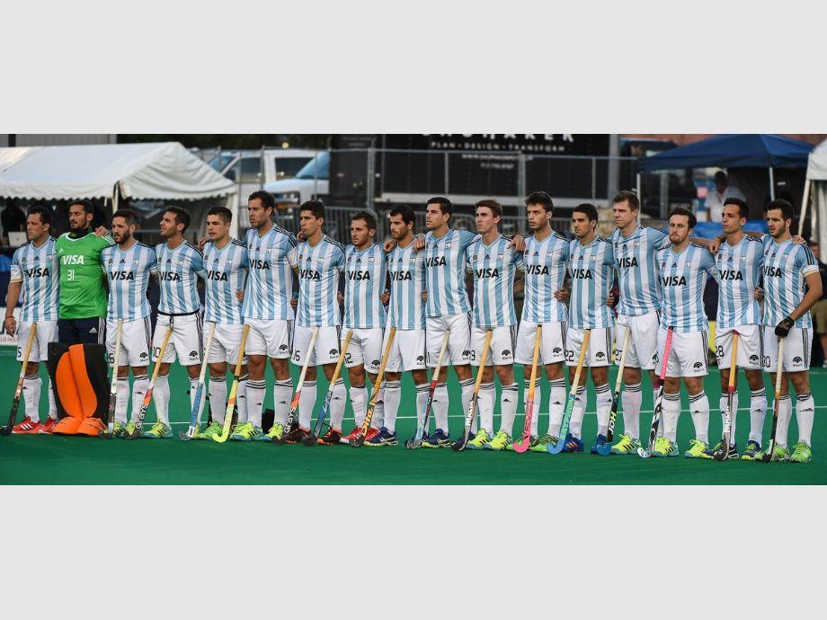 Con Agustín Bugallo, Los Leones aplastaron a Estados Unidos en el debut - copa panamericana los leones hockey sobre césped