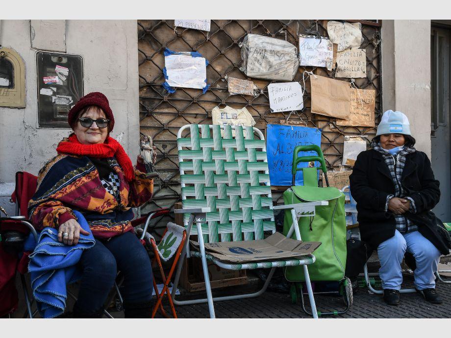 Argentinos exigen sanción de ley de Emergencia Alimentaria