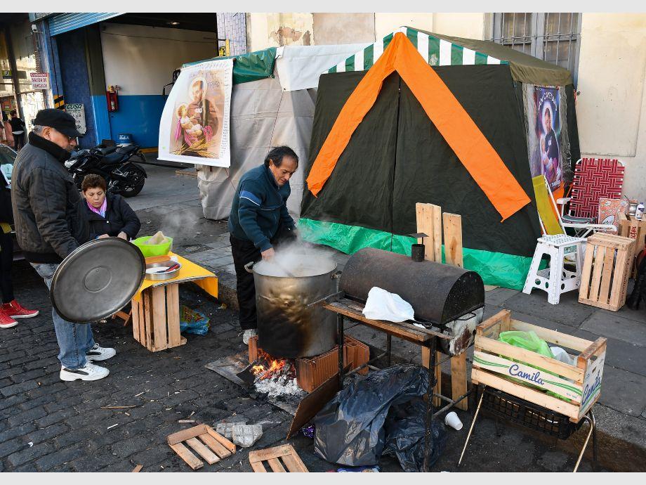 Marchan las organizaciones sociales desde Liniers