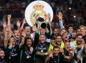 Real Madrid, el Supercampeón europeo - Supercopa de europa Real Madrid Manchester United