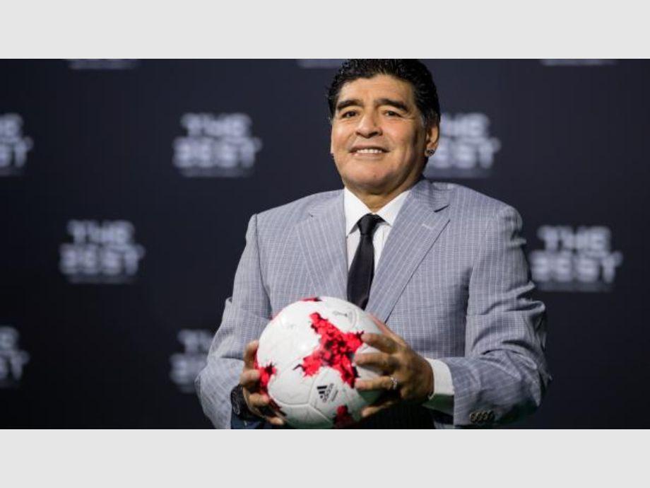 Maradona será una de las estrellas del sorteo del mundial