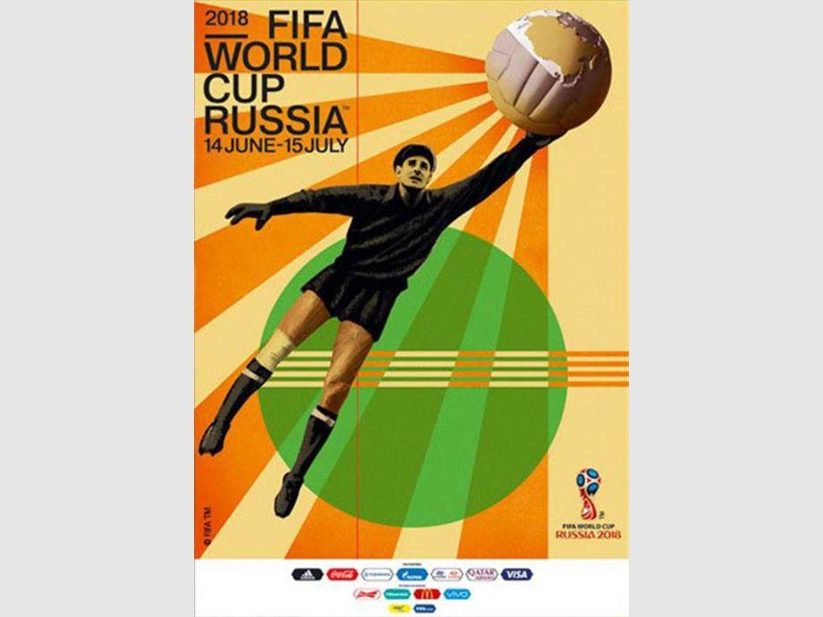 ¿Quién es el hombre que aparece en el póster de Rusia 2018?