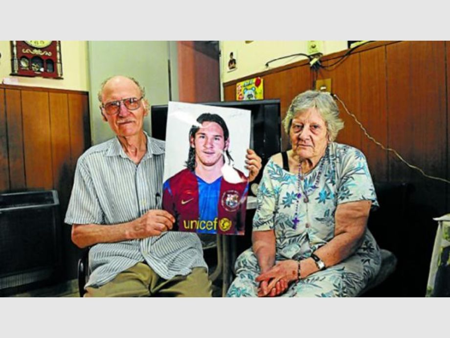 Falleció el abuelo materno de Lionel Messi