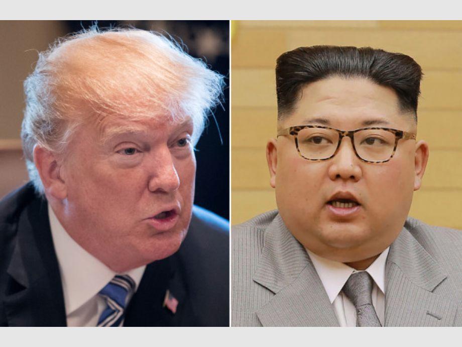 Trump cree que Corea del Norte quiere hacer la paz