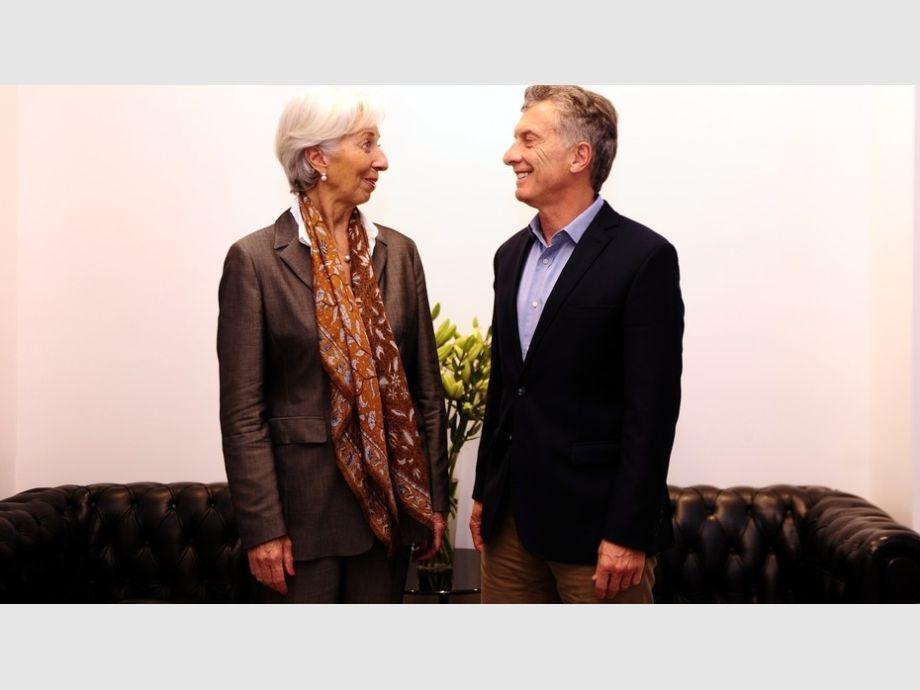 FMI: Lagarde elogió a Macri y su