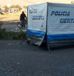Un motociclista murió en un accidente en La Bebida - Accidente Rivadavia