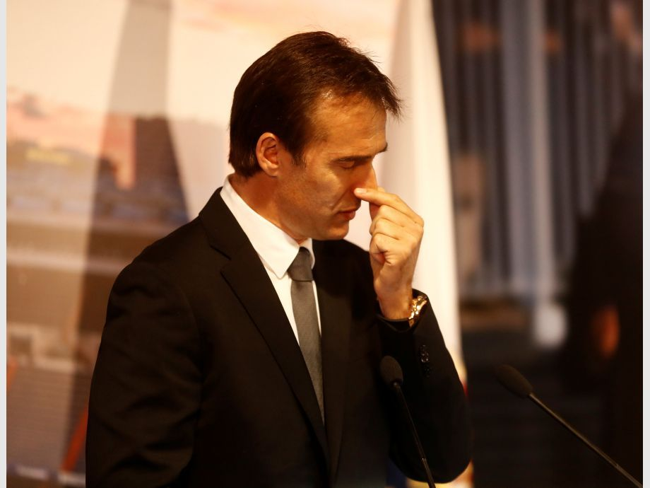 Real Madrid present new coach Julen Lopetegui - Real Madrid