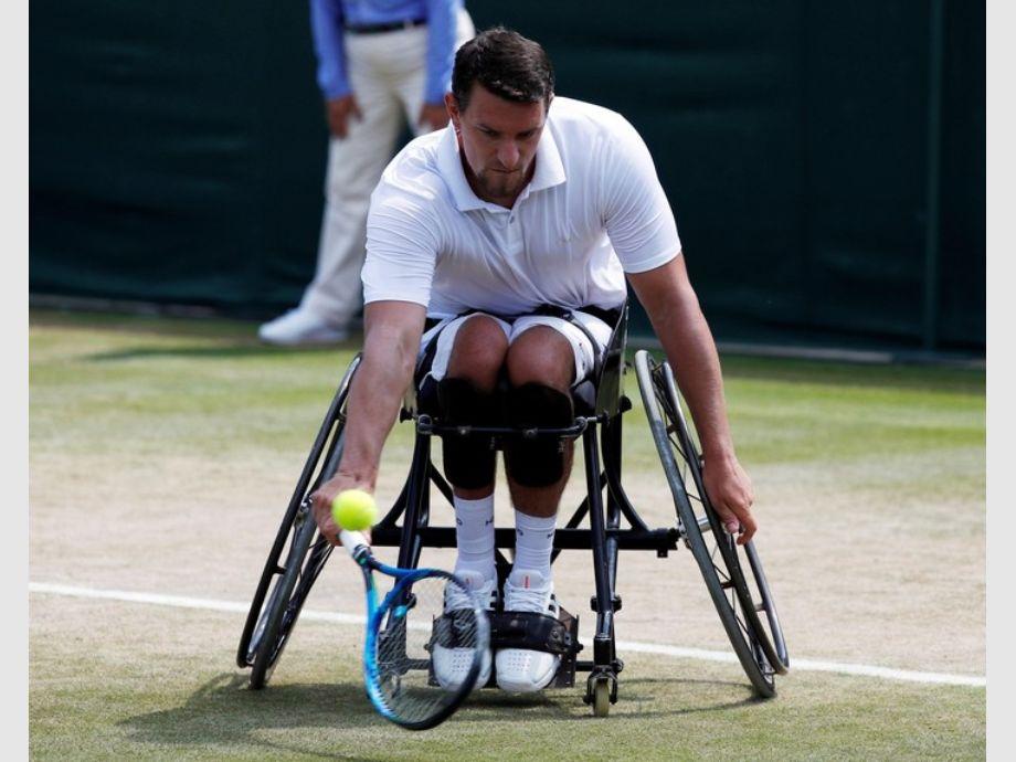 Gustavo Fernández jugará la final de tenis adaptado — Wimbledon