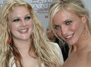 Drew Barrymore y Cameron Diaz, al natural -