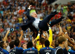 Deschamps: 20 años no es nada - Mundial de Rusia 2018 Final Francia Croacia