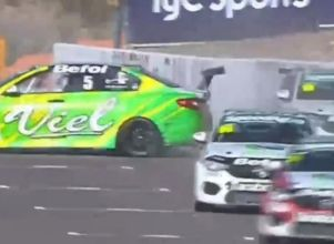 El video del fuerte accidente de la Fiat Competizione - Súper TC 2000 en San Juan