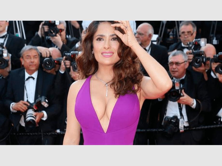 Instagram: Salma Hayek causa revuelo con foto sin una gota de maquillaje