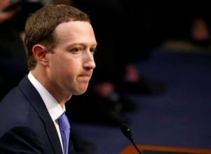 Facebook CEO Zuckerberg testifies before a U.S. Senate joint hearing on Capitol Hill in Washington - Facebook