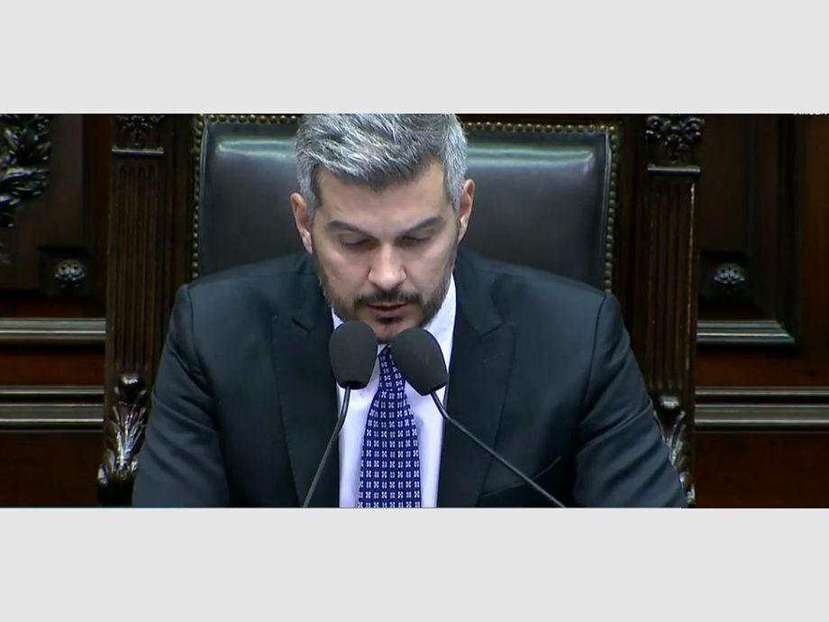 Seguí en vivo el informe de gestión de Marcos Peña en Diputados ...