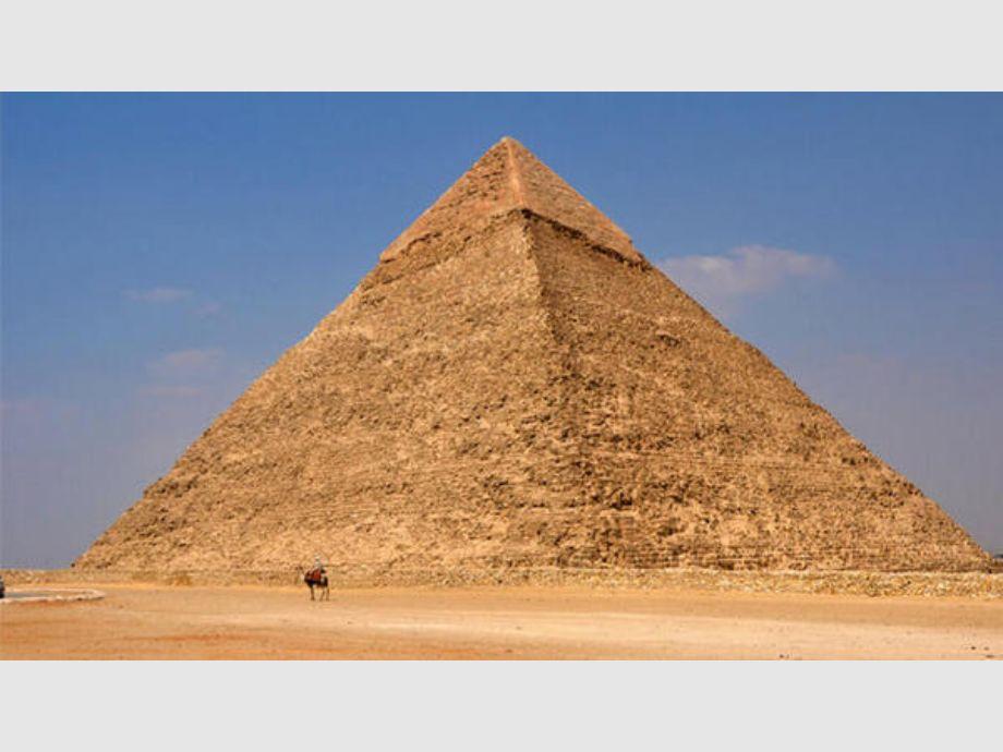 Pirámide de Keops resulta ser un