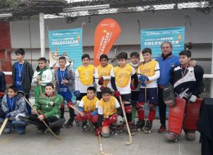Hockey a pleno - Juegos intercolegiales 2018 ETAPA DEPARTAMENTAL Albardón