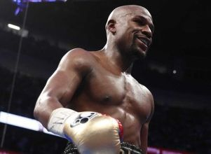 Mayweather y sus 100 millones - BOXEO Floyd Mayweather Manny Pacquiao