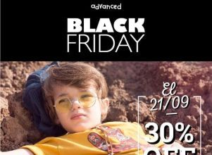 Black Friday: Este viernes, descuentos de hasta 30% en ADVANCED -