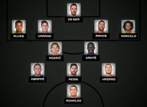 Messi, en el equipo ideal de la FIFA - the best