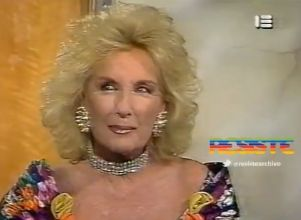 Furor por un video retro en el que Mirtha ¿se muestra a favor del