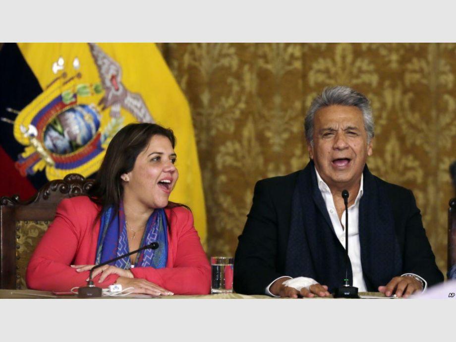 Fiscalía abre investigación previa a la vicepresidenta de Ecuador