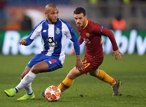 Champions League Round of 16 First Leg - AS Roma v FC Porto - Champions League Roma Porto