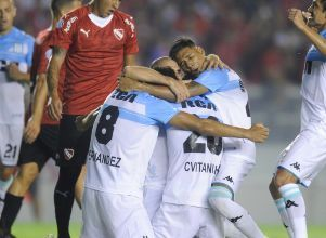Racing le ganó a Independiente 2 a 1 en el superclásico de Avellaneda - Superliga Racing Independiente