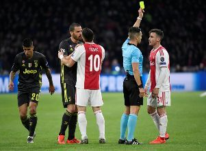 Champions League Quarter Final First Leg - Ajax Amsterdam v Juventus - Champions League Ajax Juventus