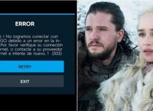 HBO GO colapsó minutos antes del estreno - Game of Thrones