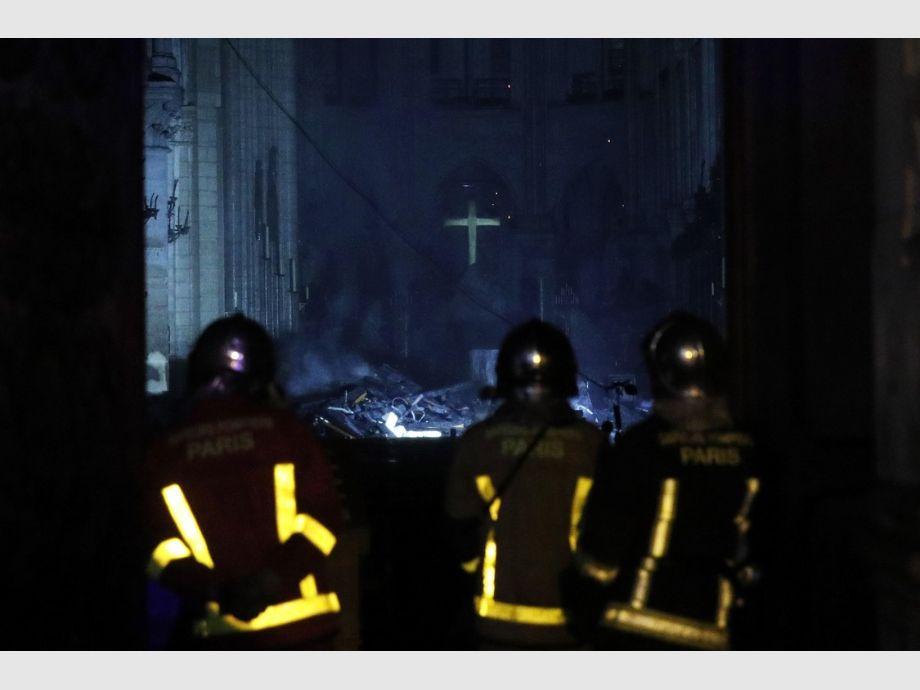 Así quedó Notre Dame: las imágenes de la catedral, luego de ser destruida por el fuego - Incendio en la catedral de Notre Dame