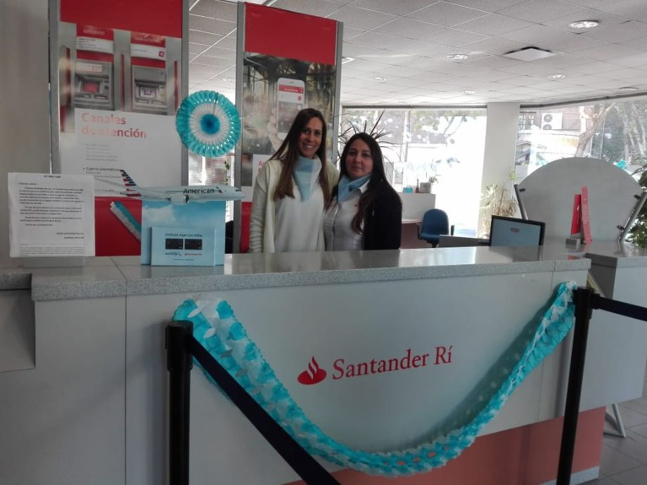 Santander se vistió de colores patrios -