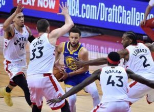 Los Warriors descontaron - BÁSQUETBOL NBA