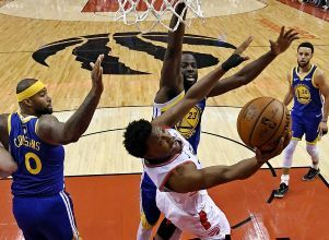 Los Golden van por la heroica ante Toronto - BÁSQUETBOL NBA Golden State Warriors