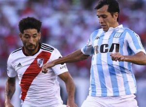 Racing le gana desde el inicio a River en Avellaneda - Racing Club River