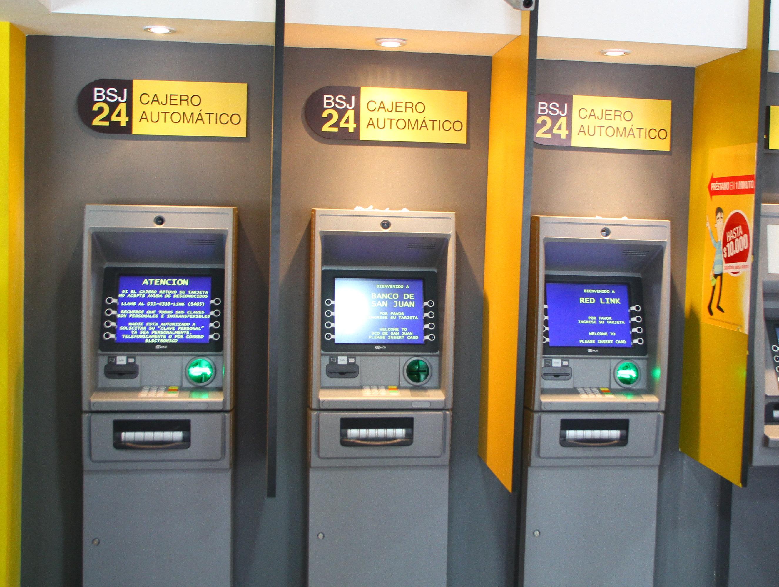 Banco San Juan: ya se puede retirar dinero de cajeros automáticos ...